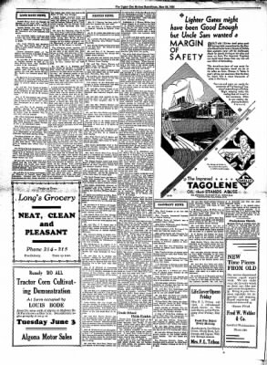 The Algona Upper Des Moines from Algona, Iowa on May 28, 1930 · Page 4