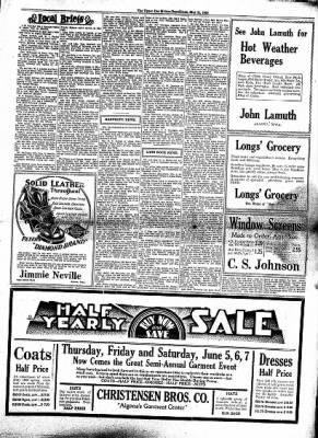 The Algona Upper Des Moines from Algona, Iowa on June 4, 1930 · Page 3