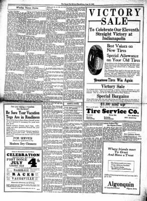 The Algona Upper Des Moines from Algona, Iowa on June 18, 1930 · Page 4