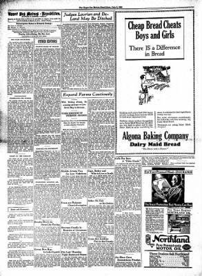 The Algona Upper Des Moines from Algona, Iowa on July 9, 1930 · Page 2