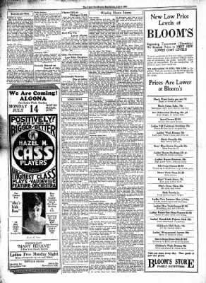 The Algona Upper Des Moines from Algona, Iowa on July 9, 1930 · Page 6