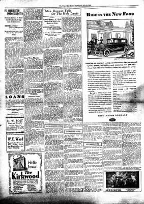 The Algona Upper Des Moines from Algona, Iowa on July 16, 1930 · Page 5