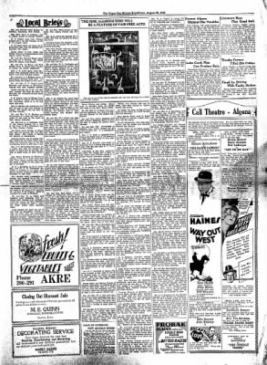 The Algona Upper Des Moines from Algona, Iowa on August 20, 1930 · Page 7