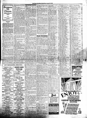 The Algona Upper Des Moines from Algona, Iowa on August 27, 1930 · Page 9