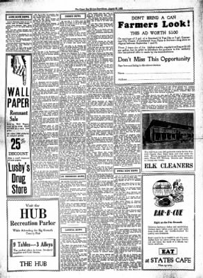 The Algona Upper Des Moines from Algona, Iowa on August 27, 1930 · Page 14