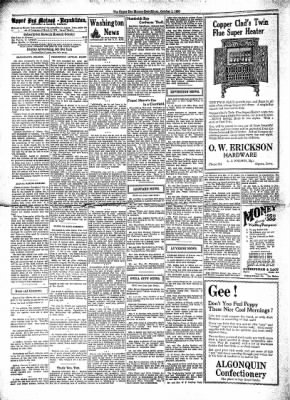 The Algona Upper Des Moines from Algona, Iowa on October 1, 1930 · Page 1