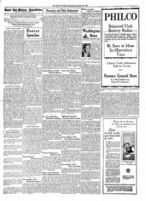 The Algona Upper Des Moines from Algona, Iowa on October 15, 1930 · Page 2