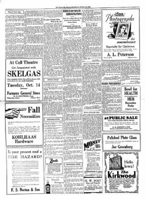 The Algona Upper Des Moines from Algona, Iowa on October 15, 1930 · Page 8