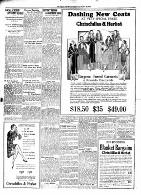 The Algona Upper Des Moines from Algona, Iowa on October 29, 1930 · Page 12