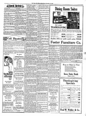 The Algona Upper Des Moines from Algona, Iowa on November 19, 1930 · Page 7
