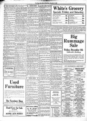The Algona Upper Des Moines from Algona, Iowa on December 3, 1930 · Page 10