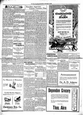 The Algona Upper Des Moines from Algona, Iowa on December 17, 1930 · Page 4