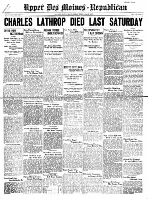 The Algona Upper Des Moines from Algona, Iowa on January 21, 1931 · Page 1