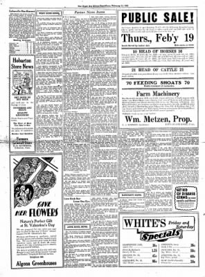 The Algona Upper Des Moines from Algona, Iowa on February 11, 1931 · Page 9