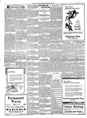 The Algona Upper Des Moines from Algona, Iowa on February 25, 1931 · Page 6