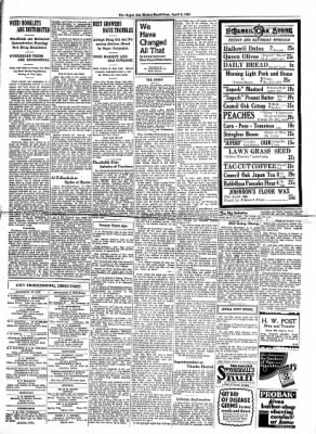 The Algona Upper Des Moines from Algona, Iowa on April 8, 1931 · Page 11