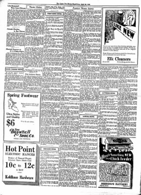 The Algona Upper Des Moines from Algona, Iowa on April 22, 1931 · Page 4