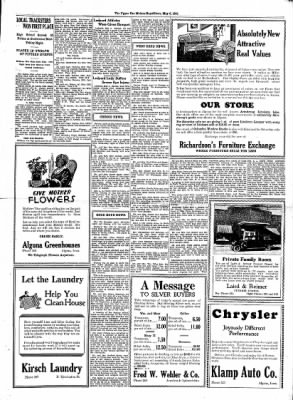 The Algona Upper Des Moines from Algona, Iowa on May 6, 1931 · Page 3