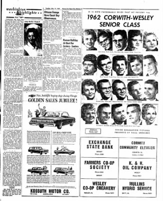 The Algona Upper Des Moines from Algona, Iowa on May 15, 1962 · Page 17