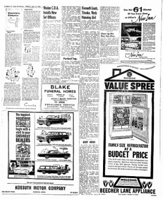 The Algona Upper Des Moines from Algona, Iowa on July 10, 1962 · Page 7