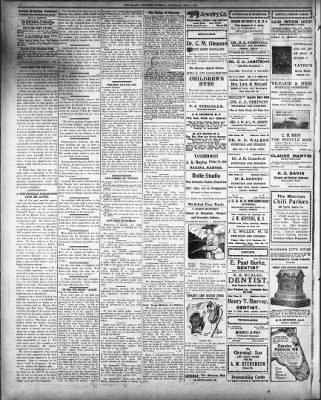 The Salina Evening Journal From Kansas On December 7 1907 Page 4