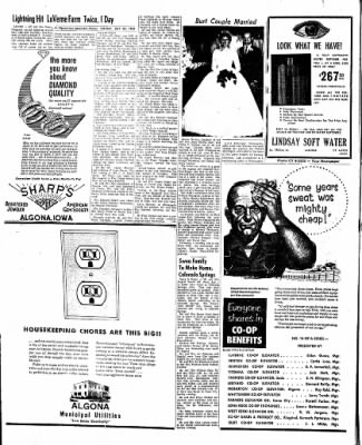 The Algona Upper Des Moines from Algona, Iowa on July 24, 1962 · Page 7