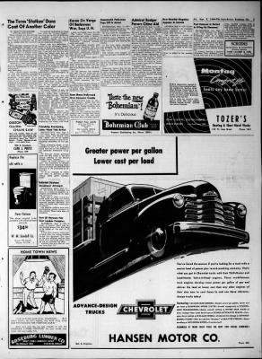 The News-Review from Roseburg, Oregon on September 9, 1949 · Page 3