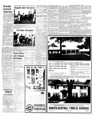 The Algona Upper Des Moines from Algona, Iowa on August 28, 1962 · Page 4