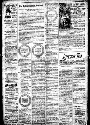 Logansport Pharos-Tribune from Logansport, Indiana on October 3, 1896 · Page 3