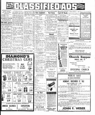 The Algona Upper Des Moines from Algona, Iowa on December 11, 1962 · Page 7