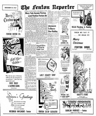 The Algona Upper Des Moines from Algona, Iowa on December 25, 1962 · Page 14