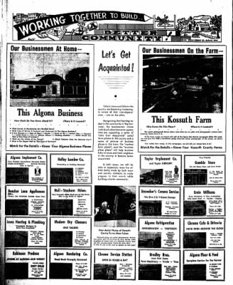 The Algona Upper Des Moines from Algona, Iowa on July 4, 1957 · Page 18