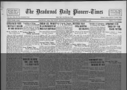 The Daily Deadwood Pioneer-Times