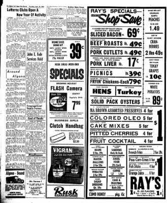 The Algona Upper Des Moines from Algona, Iowa on September 19, 1957 · Page 6