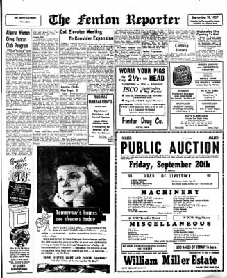 The Algona Upper Des Moines from Algona, Iowa on September 19, 1957 · Page 13