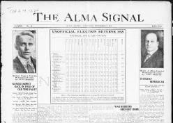 The Alma Signal