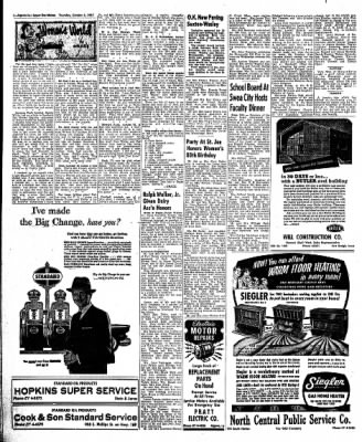 The Algona Upper Des Moines from Algona, Iowa on October 3, 1957 · Page 14