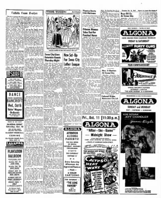 The Algona Upper Des Moines from Algona, Iowa on October 10, 1957 · Page 19