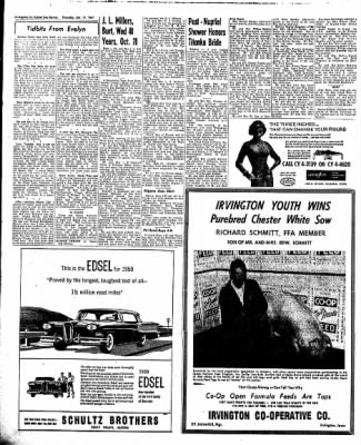 The Algona Upper Des Moines from Algona, Iowa on October 17, 1957 · Page 16