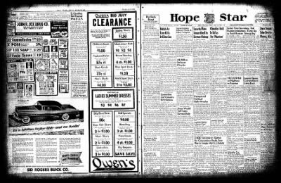 Hope Star from Hope, Arkansas on July 22, 1954 · Page 20