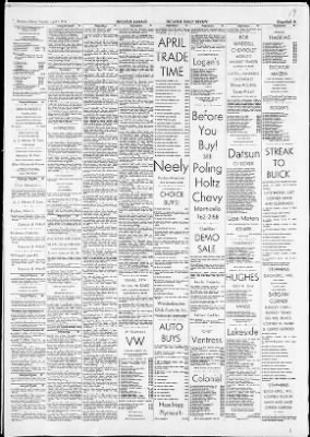 The Decatur Daily Review from ,  on April 9, 1974 · Page 43