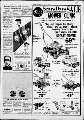 The Decatur Daily Review from Decatur, Illinois on April 29, 1965 · Page 29