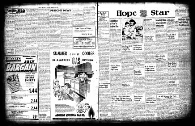 Hope Star from Hope, Arkansas on July 29, 1954 · Page 1