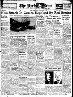 The Paris News from Paris, Texas on May 12, 1942 · Page 1