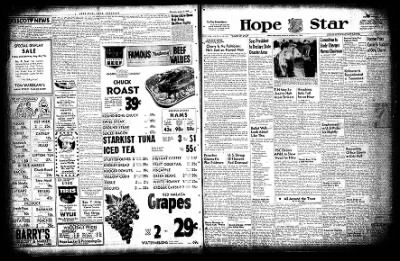 Hope Star from Hope, Arkansas on August 6, 1954 · Page 1