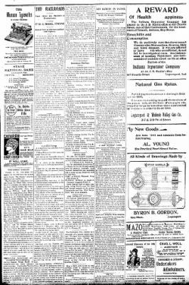 Logansport Pharos-Tribune from Logansport, Indiana on October 15, 1896 · Page 3