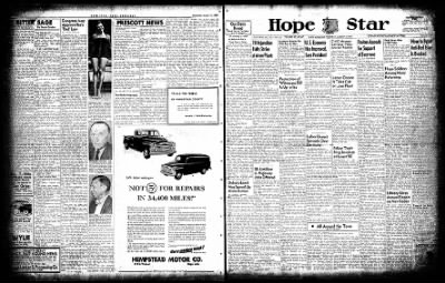 Hope Star from Hope, Arkansas on August 12, 1954 · Page 1