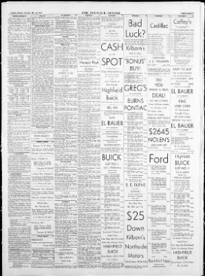 the decatur daily review from decatur illinois on may 26 1956 1953 Hudson Super Jet the decatur daily review from decatur illinois on may 26 1956 page 11