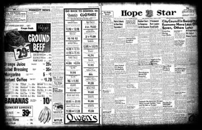Hope Star from Hope, Arkansas on August 13, 1954 · Page 3