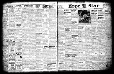 Hope Star from Hope, Arkansas on August 16, 1954 · Page 1